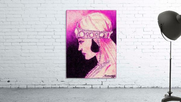 1920's Bride -- in Purple