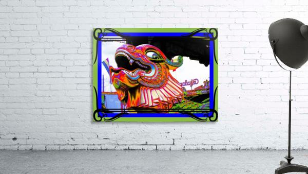 Carnival Creature in Bright Colors