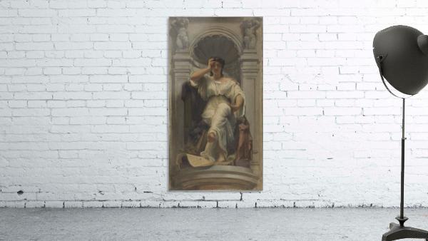 Esquisse pour la coupole du pavillon Denon au Louvre La pensee ou l architecture