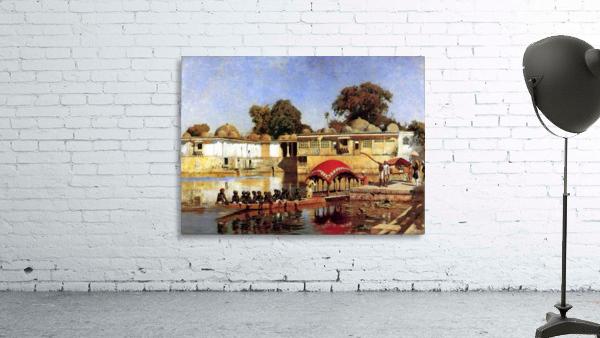 Palace and Lake at Sarket-Ahmedabad, India