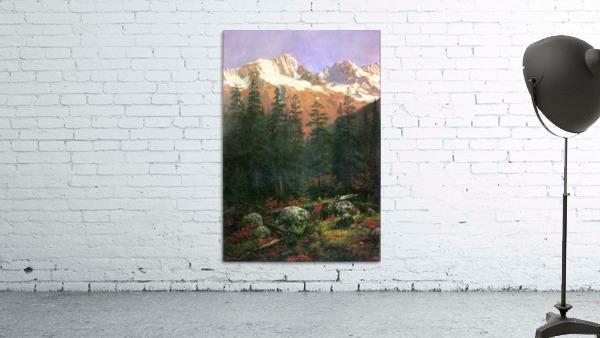 Canadian Rockies by Bierstadt