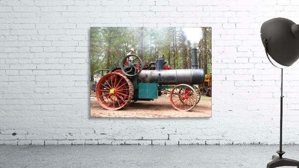 Logging Steam Tractor