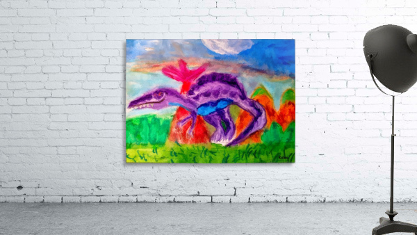 Dinosaur drawn by 5 year old
