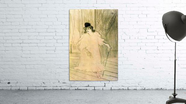 Cecy Loftus by Toulouse-Lautrec