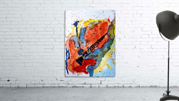 Clarinet watercolor