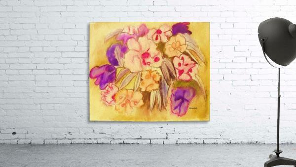 Floral pansies