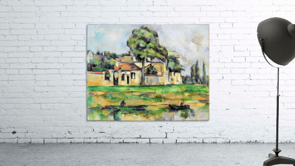 Cezanne - Banks of the Marne