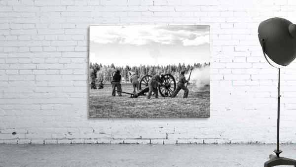 U. S. Civil War Re-enactment