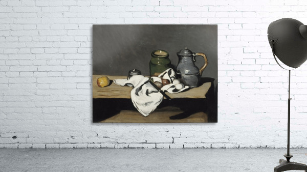 Cezanne - Still life with kettle