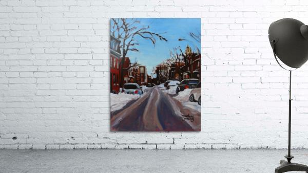 Montreal Winter Scene