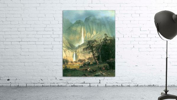 Cho-Looke,  Yosemite Watterfall by Bierstadt
