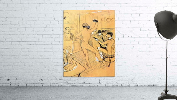 Chocolat dance by Toulouse-Lautrec