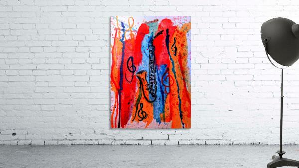 Saxophone Watercolor