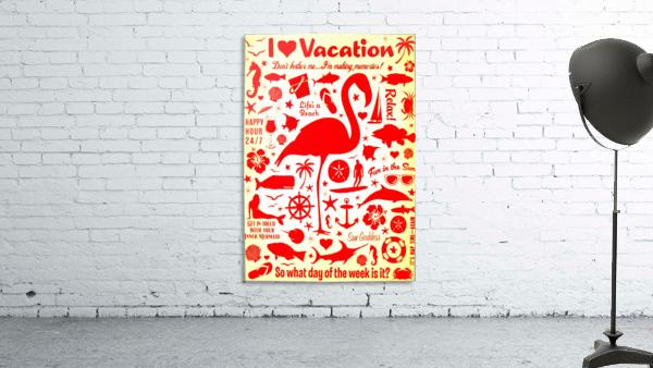 Vintage Travel - I Love Vacations