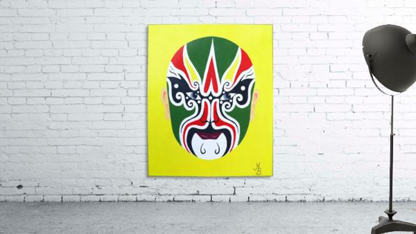 Cheng Yaojin - Chinese Opera Mask