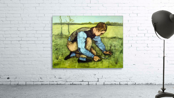 Cutting Grass by Van Gogh