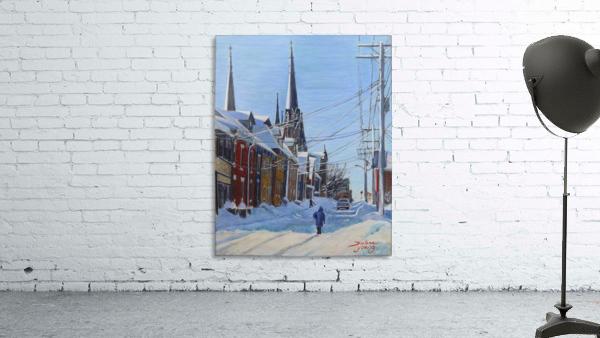 Charlottetown Winter Scene