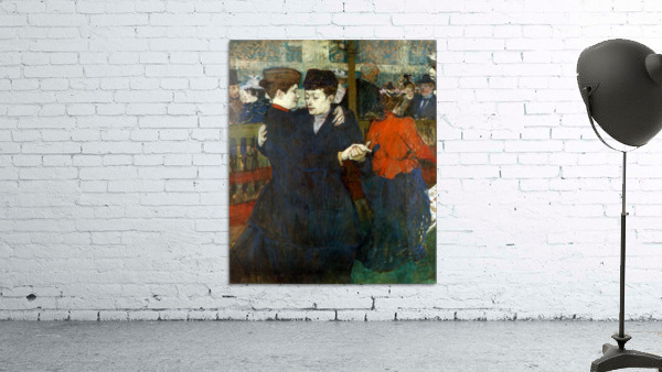 Dancing a Valse by Toulouse-Lautrec