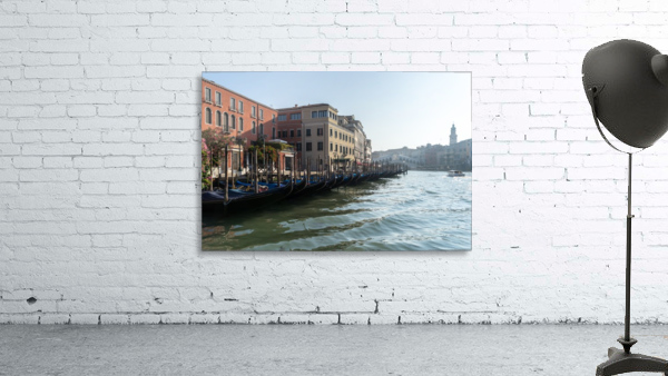 Classic Venetian - Glossy Gondolas And Ripples On The Grand Canal