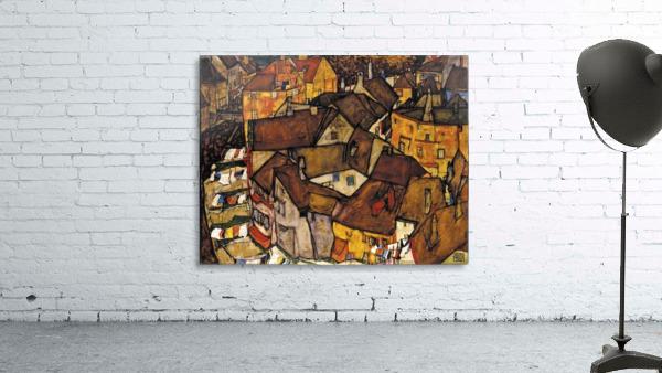 Egon Schiele - Crescent of Houses