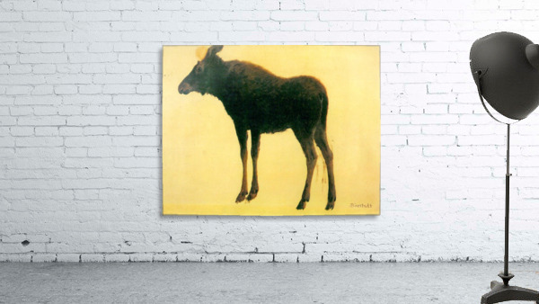 Elk by Bierstadt