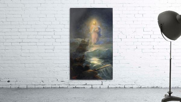 Jesus walks on water