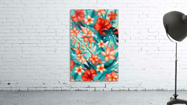 Vibrant Tropical Floral
