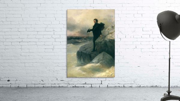 Pushkin and the sea