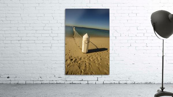 Shark Net Corner Post Perspective Brighton le Sands Australia.