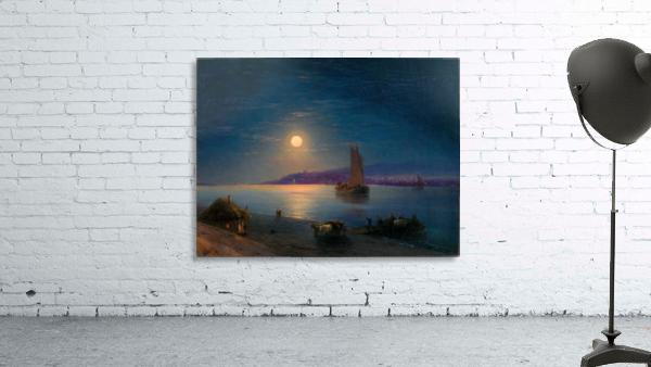 Night at the sea