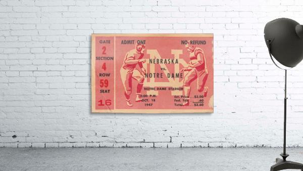 1947 Nebraska vs. Notre Dame