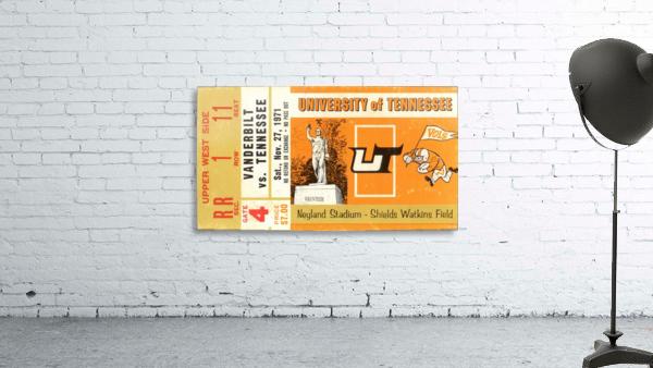 1971 Vanderbilt vs. Tennessee