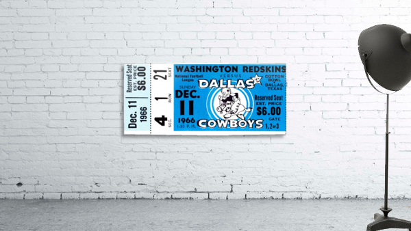 1966 Washington vs. Dallas