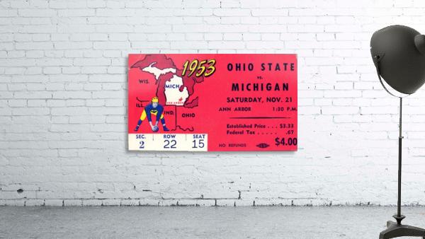 1953_College_Football_Ohio State vs. Michigan_Michigan Stadium_Ann Arbor_Row One
