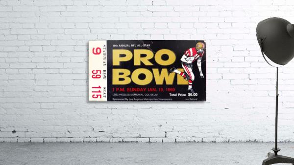 1969_National Football League_Pro Bowl_Los Angeles Coliseum_Row One