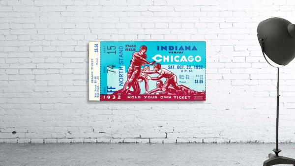 1932 Indiana vs. Chicago
