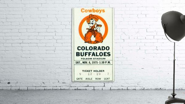 1975_College_Football_Oklahoma State vs. Colorado_Folsom Field_Boulder_Row One
