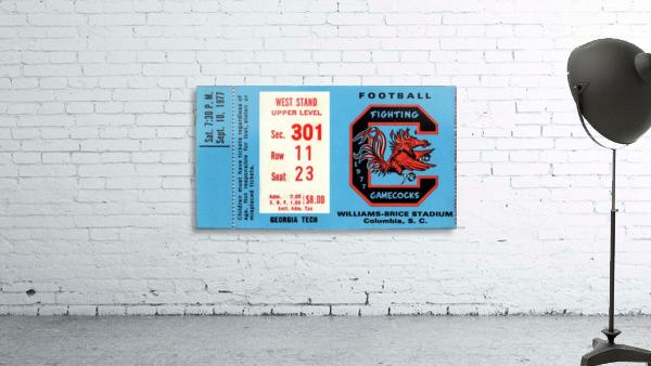 1977_College_Football_Georgia Tech vs. South Carolina_Williams Brice Stadium_Row One Brand