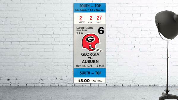 1975_College_Football_Georgia vs. Auburn_Sanford Stadium_Athens_Row One