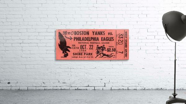 1944_National Football League_Boston Yanks vs. Philadelphia Eagles_Shibe Park_Row One