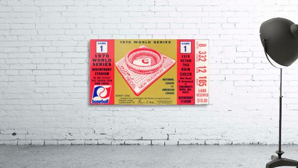 1970_Major League Baseball_World Series_Cincinnati Reds vs. Baltimore Orioles_Riverfront Stadium
