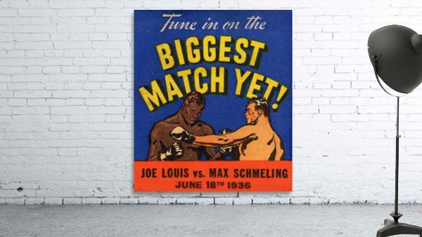 1936 Biggest Match Yet
