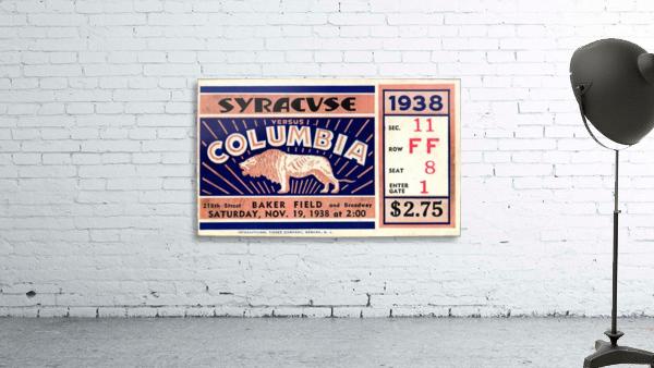 1938_College_Football_Syracuse vs. Columbia_Baker Field_New York City_Row One Brand