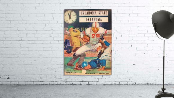 1959_College_Football_Oklahoma State vs. Oklahoma_Owen Field_Norman_Row One Brand