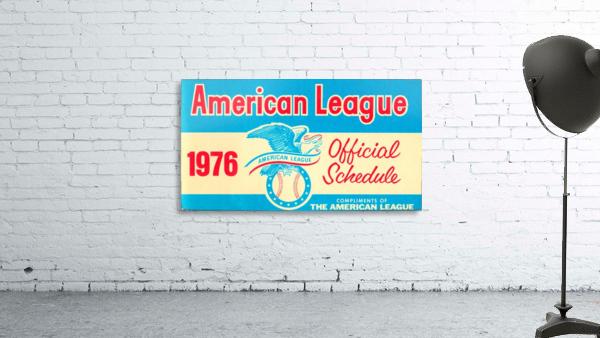 1976_Major League Baseball_American League Schedule_Row One Brand
