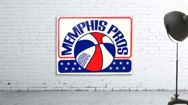 1971_American Basketball Association_Memphis Pros_Row One Brand