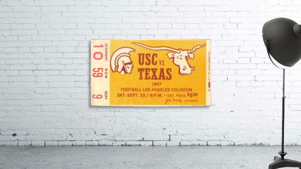 1967 USC vs. Texas