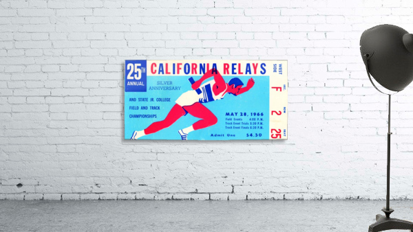 1966_Track and Field_California Relays_Row One Brand