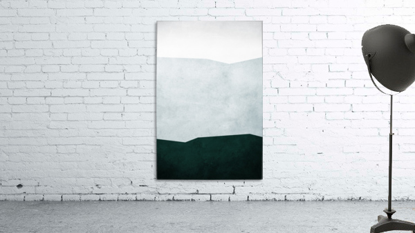 Textured Shapes 12 - Abstract Geometric Art Print