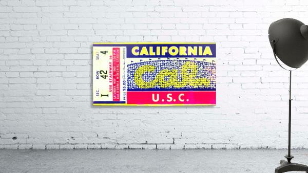 1969 Cal Bears Ticket Stub